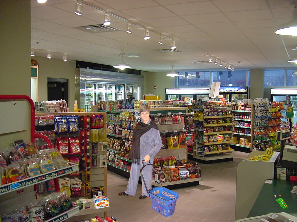 The Gallery For Convenience Store Interior